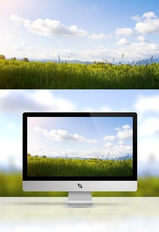Fields: Wallpaper. Photograph h - devinhansen | ello
