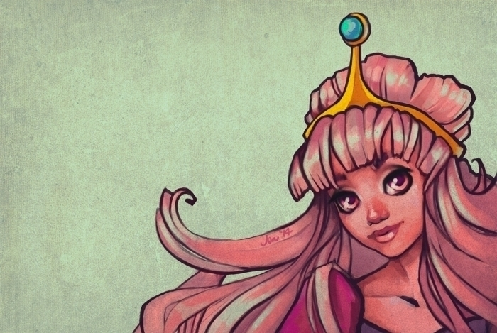Princess Bubblegum - estirdalin | ello