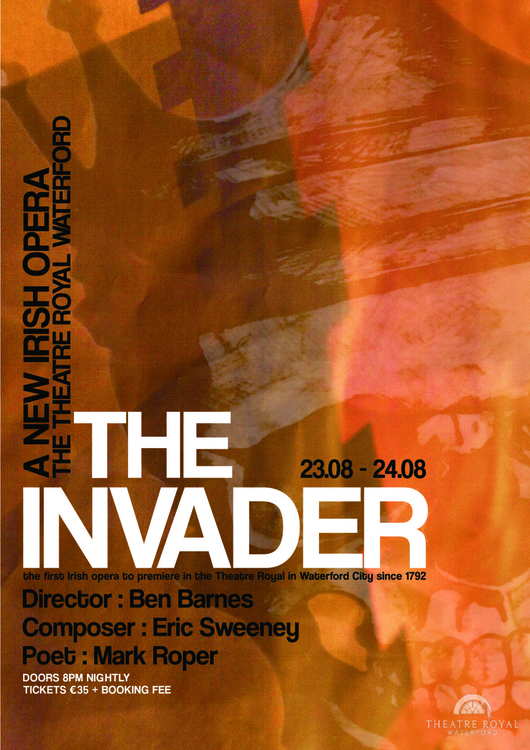 Invader Promotional Poster - posterdesign - seanfinlay_ | ello