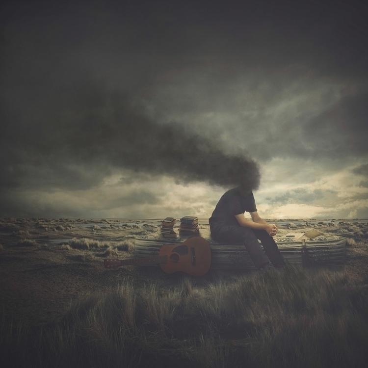 Euphony Apocalypse - clouds, guitar - michaelmanalo | ello