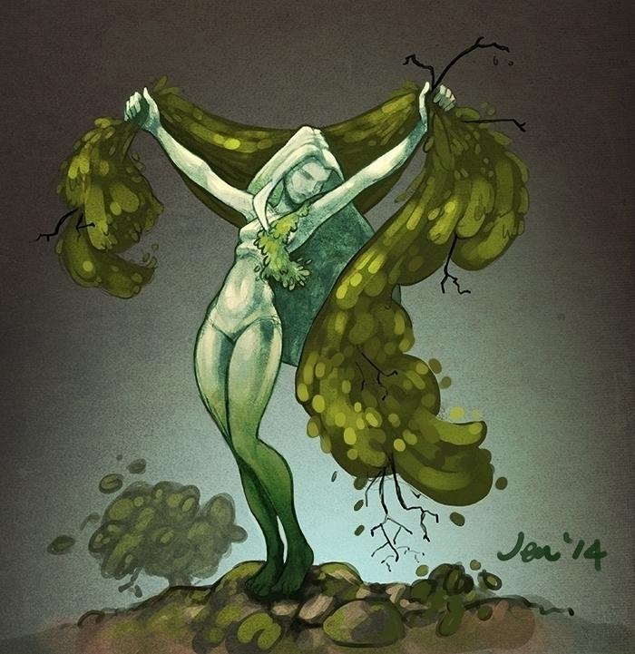 Tree statue - estirdalin | ello