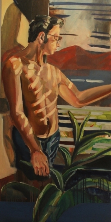 Side - painting, drawing, environment - danmnam | ello