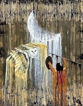 Spirit Night , oil painting pat - ptrotter | ello