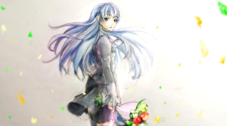 Noriko Sonozaki Kiznaiver. Draw - aelita_6225 | ello