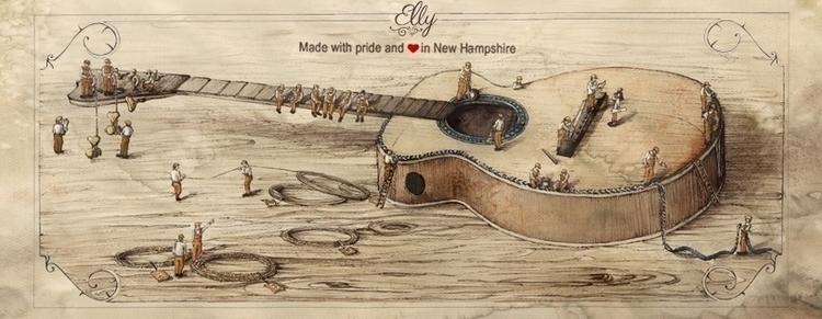Facebook background guitar comp - grimdream | ello