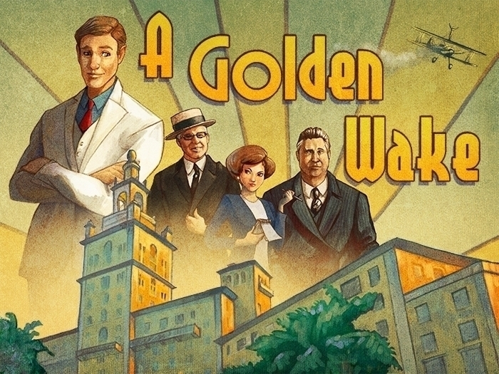 Golden Wake promo commission -  - estirdalin | ello