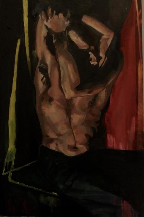 Recluse - painting, oilpainting - danmnam | ello