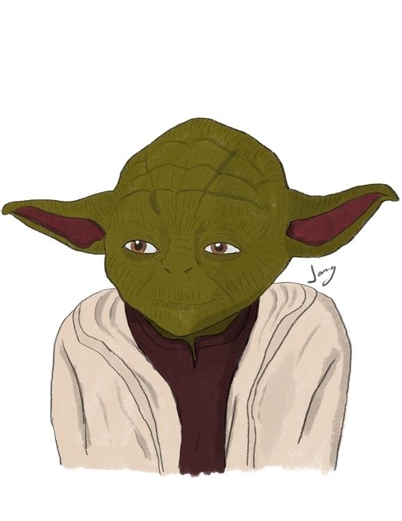 Yoda - yoda, starwars, digitalart - jang-4468 | ello