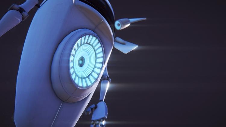 GBot MkI detail - animation, characterdesign - miruku3d | ello