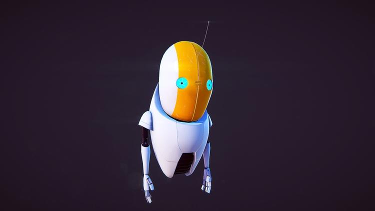 Guidebot MkII engine capture - animation - miruku3d | ello