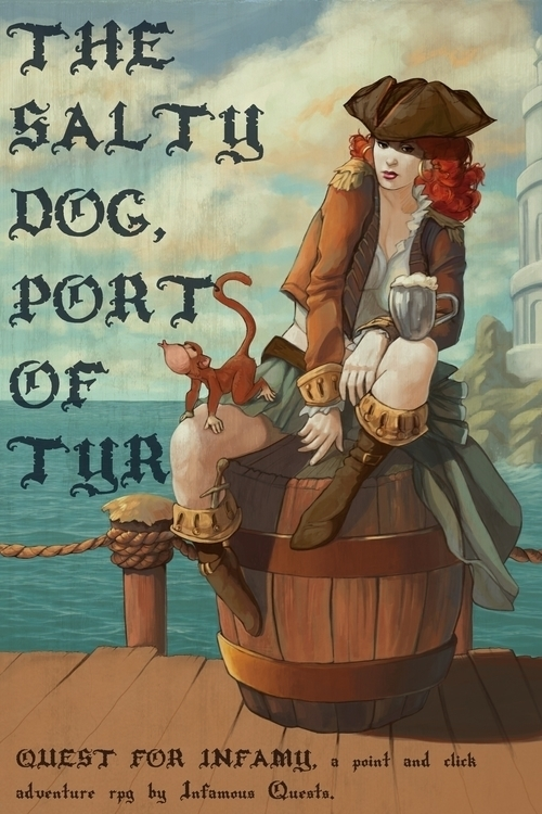 Salty Dog - Quest Infamy - estirdalin   ello
