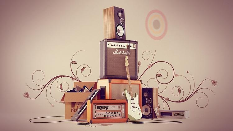 Instrument Stack Final Render - animation - miruku3d | ello