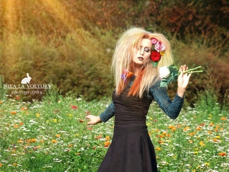 Model, MUA Hair: BloodyKyra Pho - nelagriminelli_art | ello