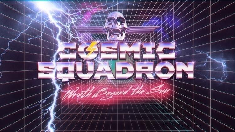 Cosmic Squadron Art Direction/  - miruku3d | ello