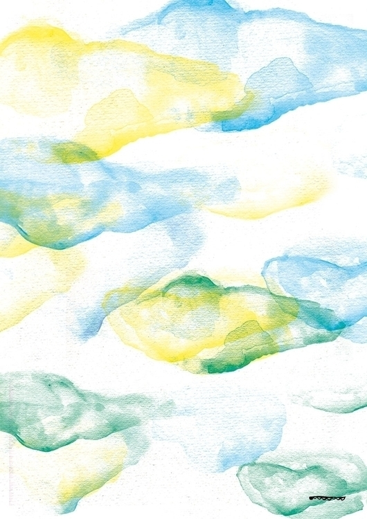 NUAGES POP - illustration, color - floriane-9695 | ello