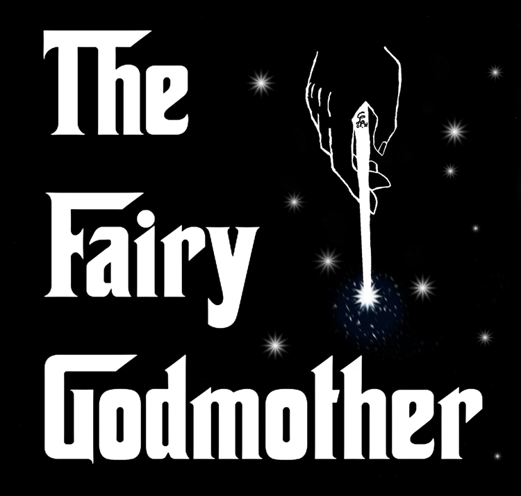 Fairy Godmother - illustration, drawing - wyldtrees | ello