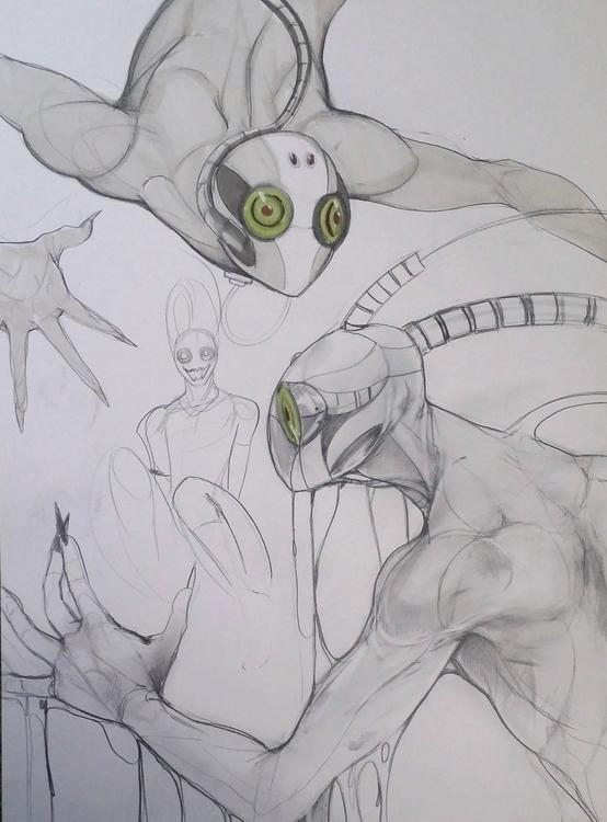 Concept pencil sketches - conceptart - ashling_sublime | ello