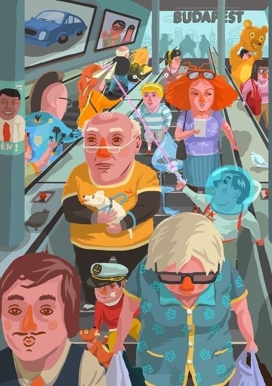 Metro Budapest - budapest, hungary - zsoltvidak | ello