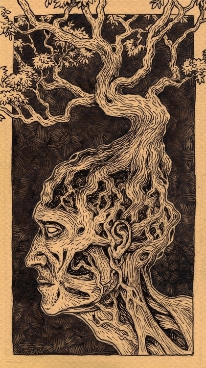 Thought Growth - illustration, drawing - bluemask-5749 | ello