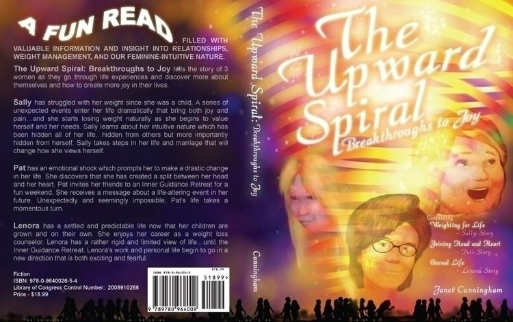 Book cover - Upward Spiral - graphicdesign - bkthompson | ello