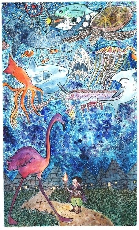 Michael Darling - illustration, children'sbook - jchanart | ello