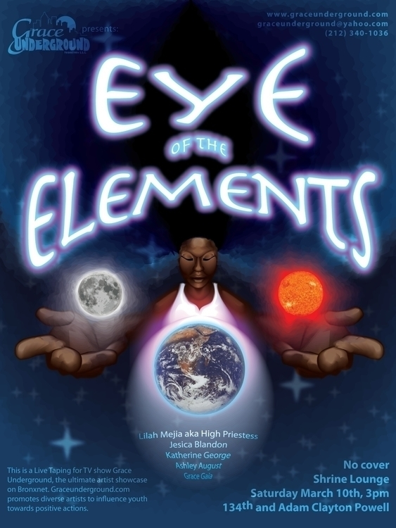 Event Poster - Eye Elements - graphicdesign - bkthompson | ello
