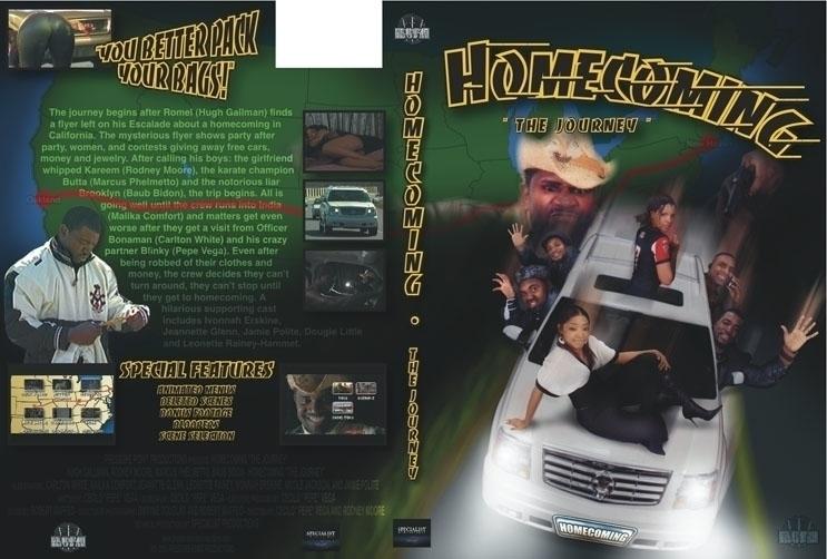 DVD cover - Homecoming - graphicdesign - bkthompson | ello