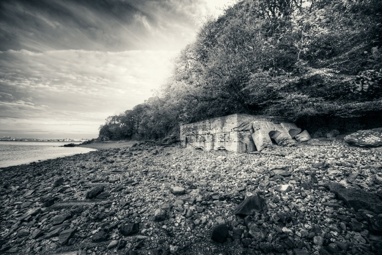 Remains dock - ruin, fineart, photography - fotografpm | ello