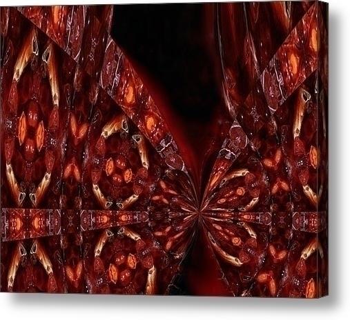 acrylic print Fugue - painting, abstract - wolfgangschweizer | ello