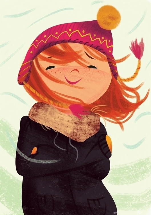 november - illustration, children'sillustration - malgorzatadetner | ello