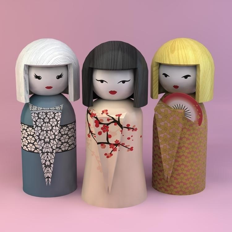 Darling Special - geisha, japanese - coyplacido | ello