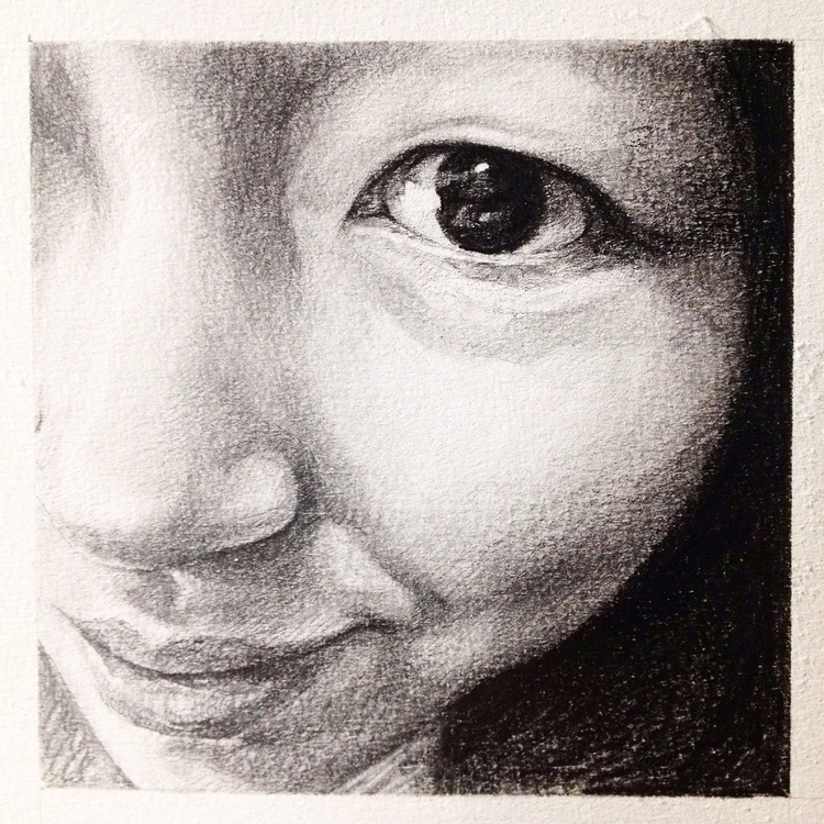 portrait sketches - illustration - bingnanwei | ello