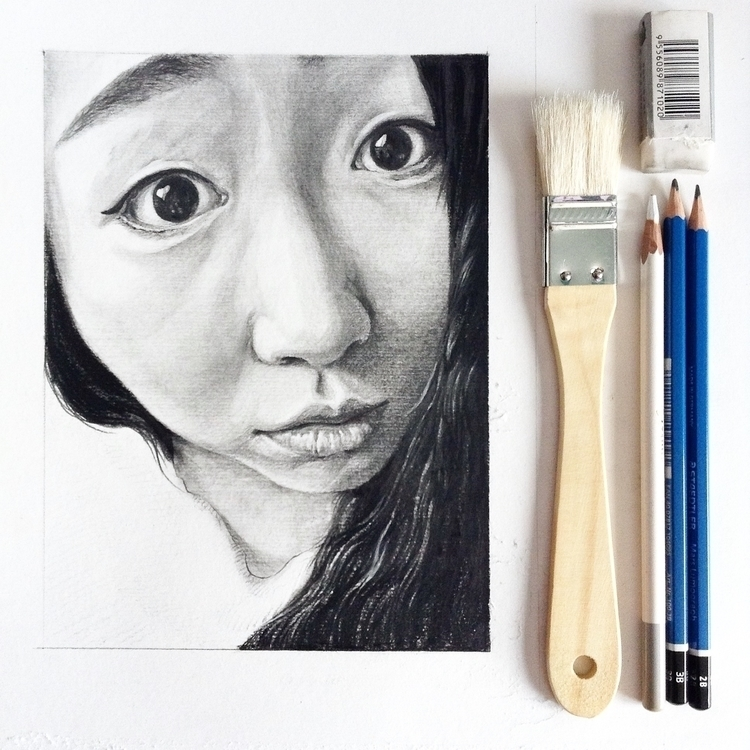 portrait sketches - illustration - bingnanwei | ello