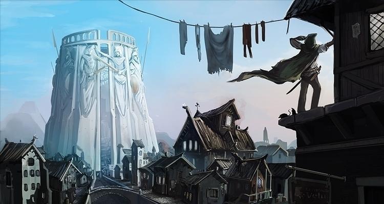 illustration, environment - pmaz | ello