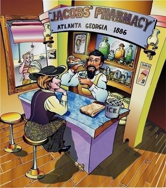 Cocacola Start Jacobs Pharmacy - albertososa | ello