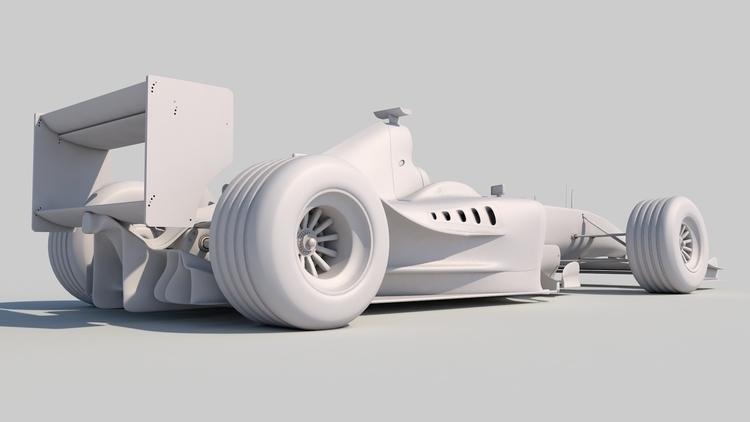 Ferrari F1 - 3d - brucemclarenlyall | ello