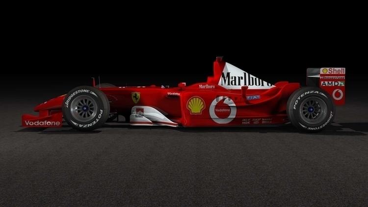 Ferrari F1 Deacls - 3d, BruceMcLarenLyall - brucemclarenlyall | ello