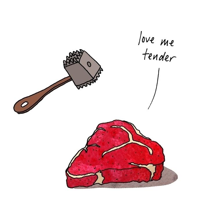Love tender - greetingcard, holiday - nanu_illustration | ello