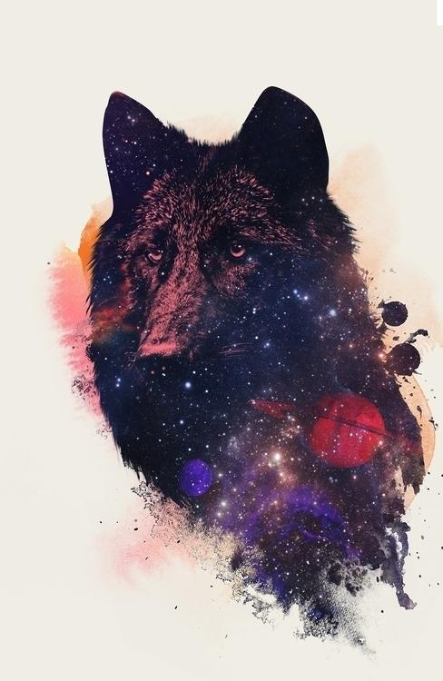 Universal Wolf - scifi, sci-fi, universe - astronaut-6456 | ello