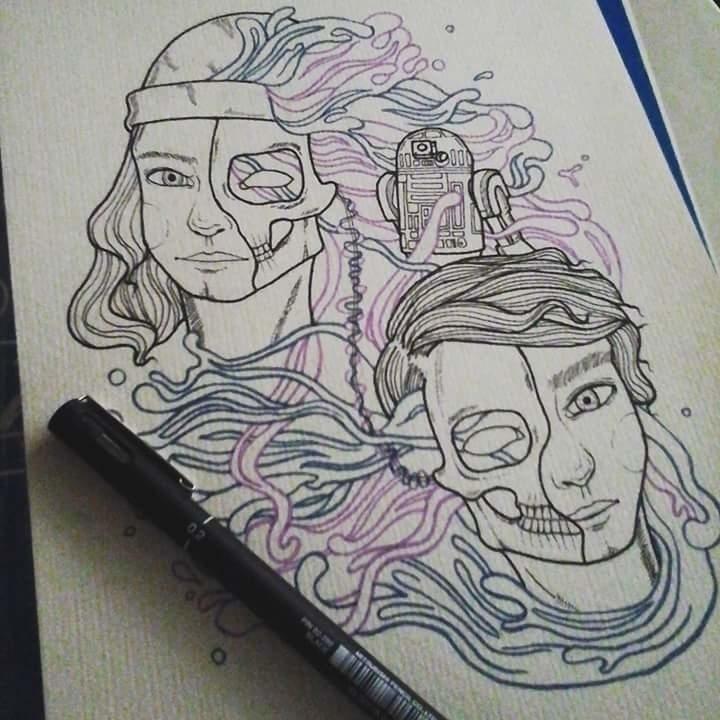 Wip - illustration, portrait, musicians - maryjoycardano | ello