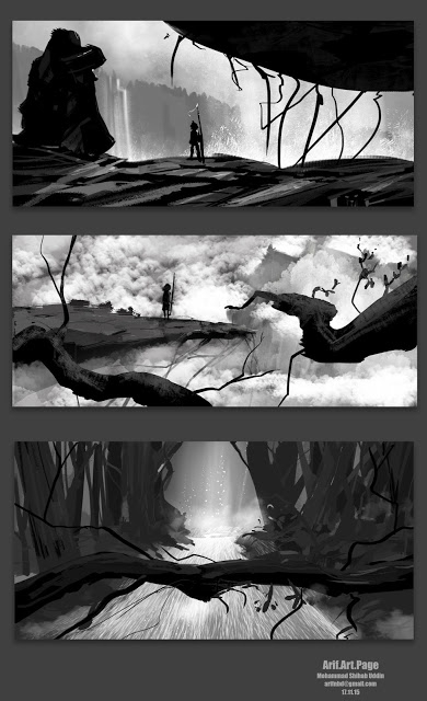 Background Thumbnail work - illustration - arifnbd | ello