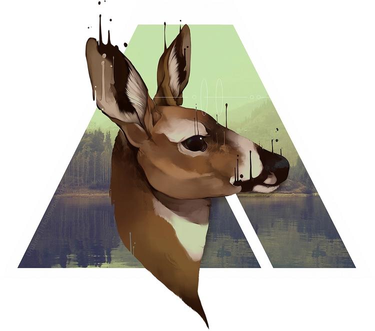 posted - deer, doe, whitetaildeer - uru-1113 | ello