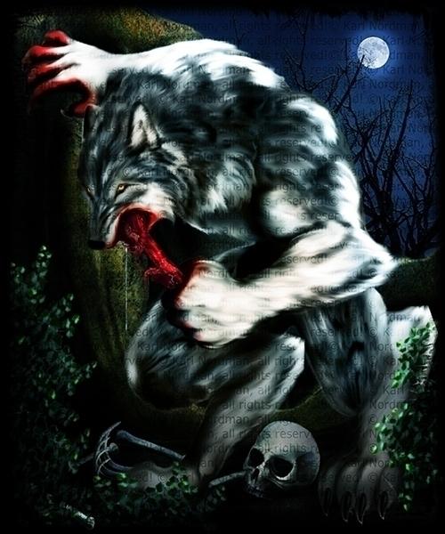 Ravager Wolf - werewolf, gore, terror - thelycanknight | ello