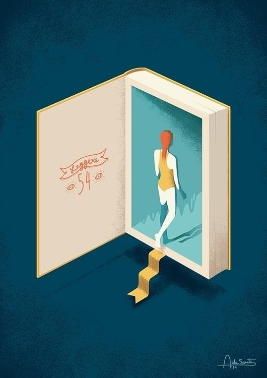 Illustration literature blog. a - 4ndrea-3911 | ello