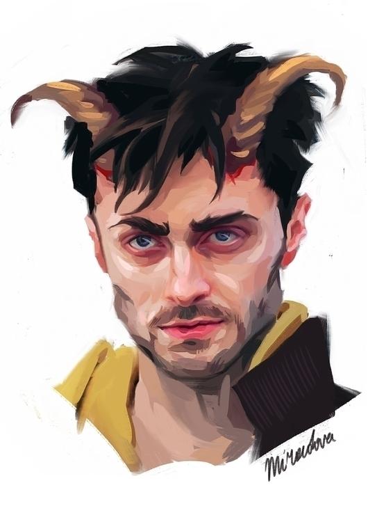 Daniel Radcliffe Ig Perrish - portrait - miroedova | ello