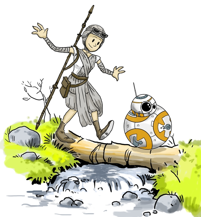 Star Wars: Force Awakens- Calvi - tduffyworld | ello