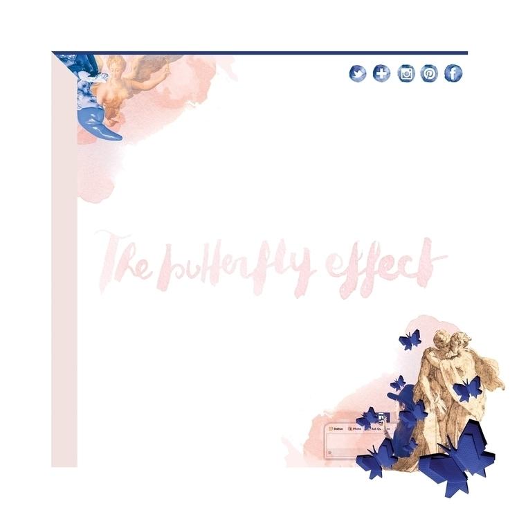 butterfly effect - graphicdesign - camillalocatelli | ello