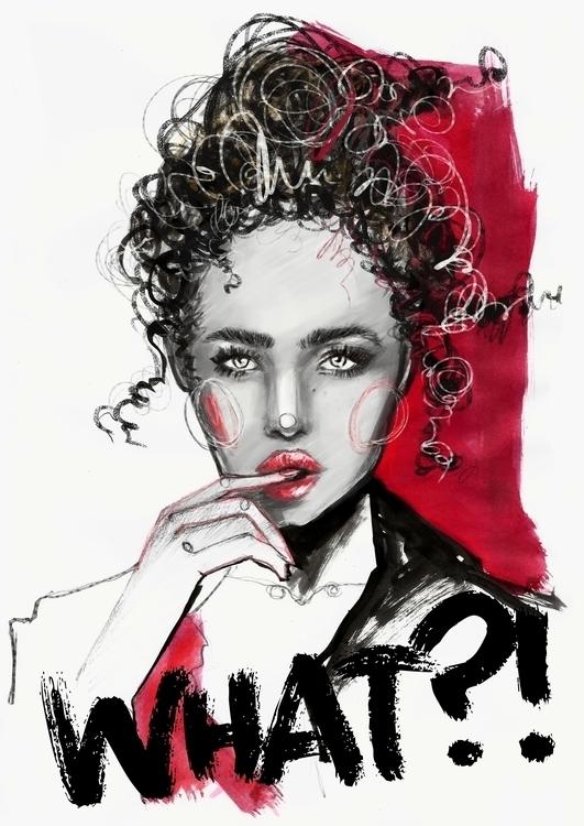fashion, fashionillustration - anadeestyle | ello