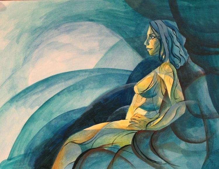gouache, figuredrawing, painting - artstory | ello
