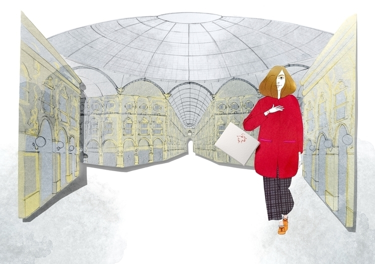 Antea Milan - antea, fashion, fashionillustration - camillalocatelli | ello